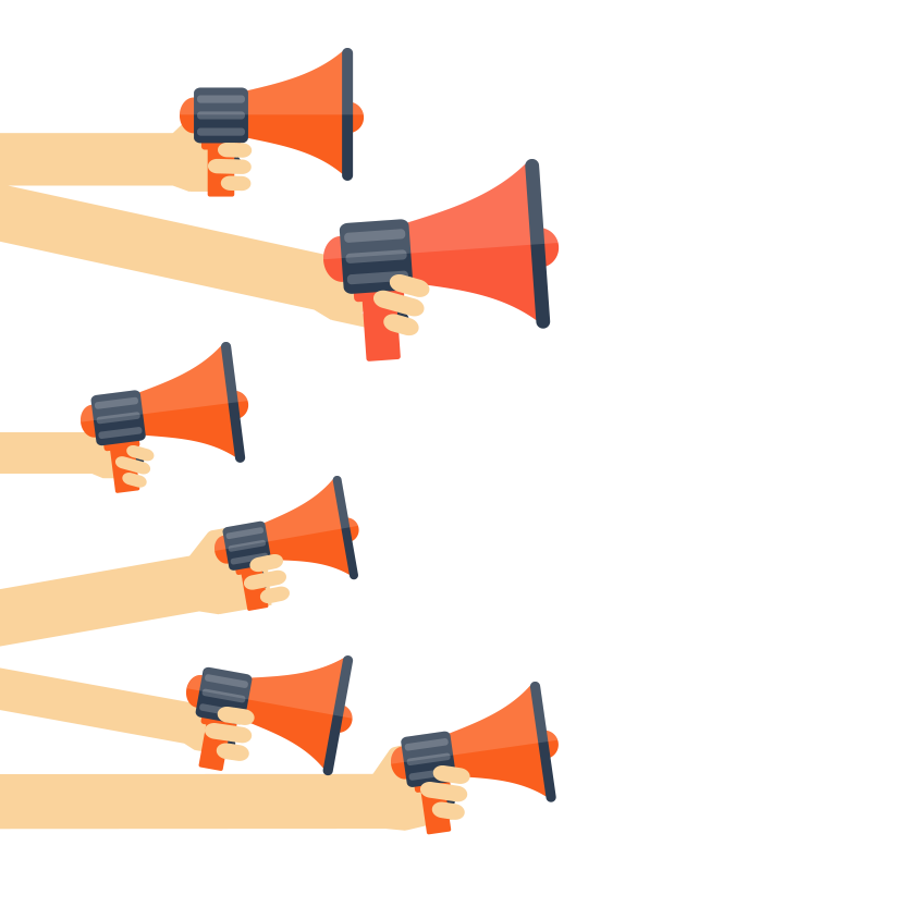 megaphones-transparent